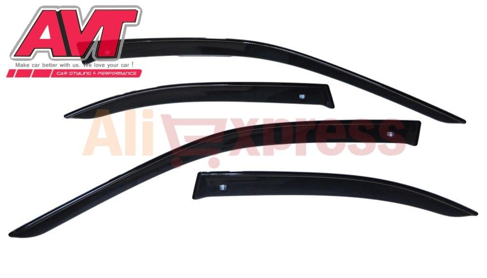 Deflectors case for BMW 5 E39 1998 2003 1set 4pcs styling wind window deflector guard auto
