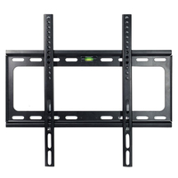Slanke Lage Profiel Tv Beugel voor 25 28 32 34 37 42 48 50 55 60 inch LED LCD Plasma Platte Schermen, Magnetische Bubble Leve