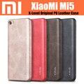 "Mi5 caja original X Nivel de lujo ultra delgada de cuero de la pu de la contraportada para xiaomi mi5 pro primer 5.15 ""mi5s"