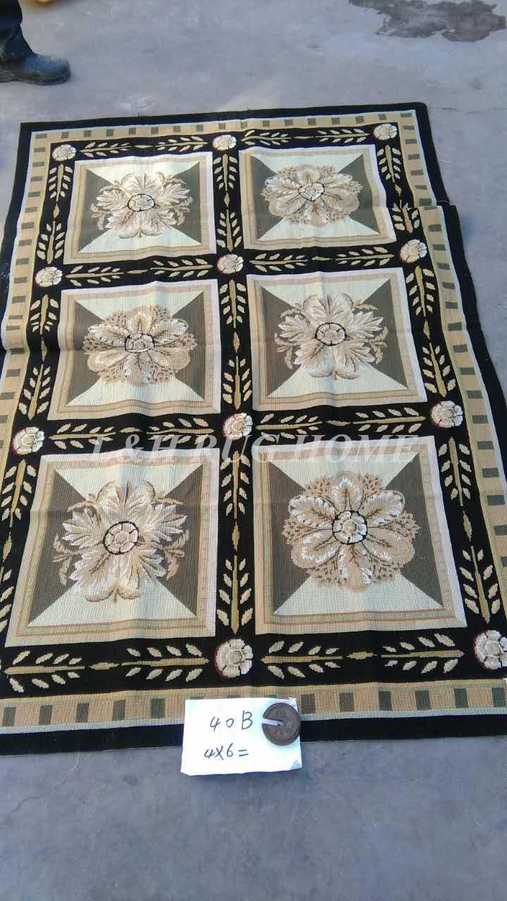 Free Shipping 4x6 Needlepoint Rugs, Handmade carpet 100% New Zealand Wool area rugFree Shipping 4x6 Needlepoint Rugs, Handmade carpet 100% New Zealand Wool area rug