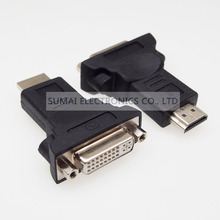24+5 DVI to HDMI adapter HDMI male DVI female adapter for computer and TV etc