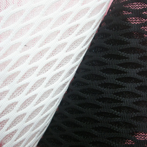 1Yard New Fashion 3D High Quality Black Knitted Net Cloth Cosplay Spain White Sandwich Air Layer Mesh Fabric Tissu Free Shipping