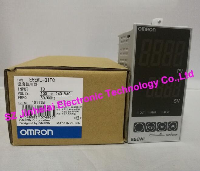 100%New and original  E5EWL-Q1TC,  E5EWL-R1TC    OMRON  Temperature controller AC100-240V q and q q887 100