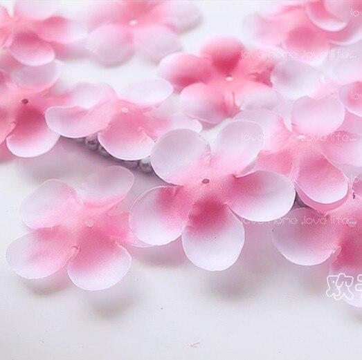 1000pcs Lot Cherry Blossom Petals Wedding Silk Fake Artificial Flower Home Decoration Diy