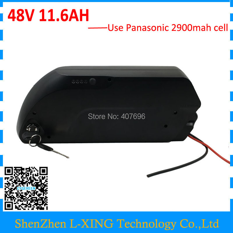 US EU Free Tax 48V lithium battery use NCR18650PF cell 48V 11.6Ah Electric Bike Battery for Bafang BBS02 750W Ebike motor kit 36v500w electric bike center motor system bbs cheapest and best on aliexpress free shipping