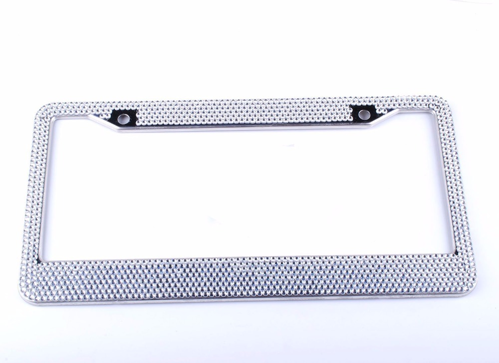 Buy license plate frame crystal and get free shipping on AliExpress.com