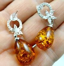Perles de boucle d'oreille modernes, miel doré pressé, vente en gros, bijoux de boucle d'oreille, Q17