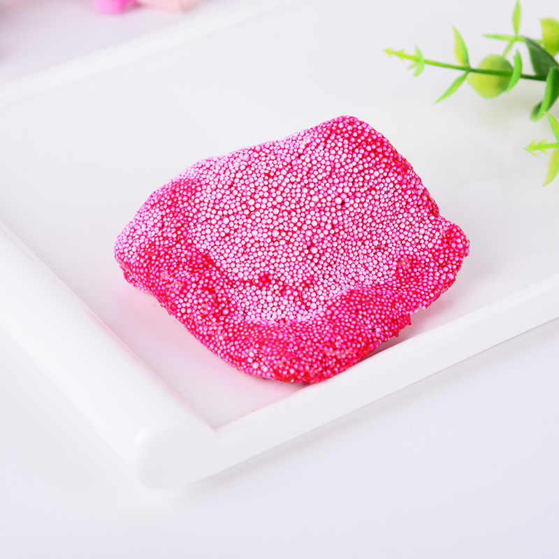Snow Mud Fluffy Foam Slime Scented Stress Relief No Borax Kids Toy Planner Anti Anxiety Anti Stress Squishy Squeeze Toy