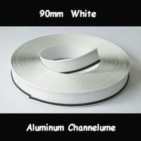 90mm Channelume Led Sign Letters Aluminium Channel Letter Signs Trim Cap 3D Luminous Letters Making Material