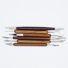 Топ 6 шт/компл острые инструменты для резьбы по воску и керамики