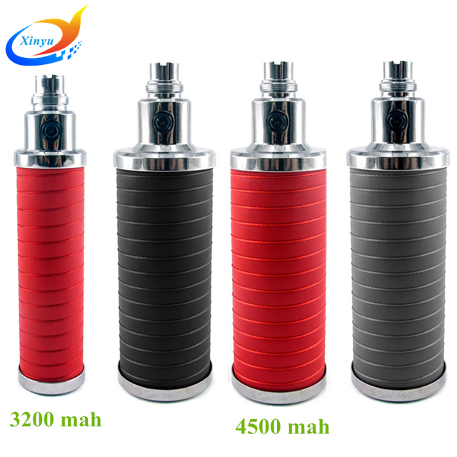 Cigarrillo electrónico ego batería 3200 mah / 4500 mah ego t 510 de la batería voltaje variable cigarrillo batería con cortical