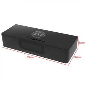 Image 4 - BS 39A built in microfone bluetooth soundbar alto falante com qi sem fio de carregamento e display led inteligente para telefone/pc/tv