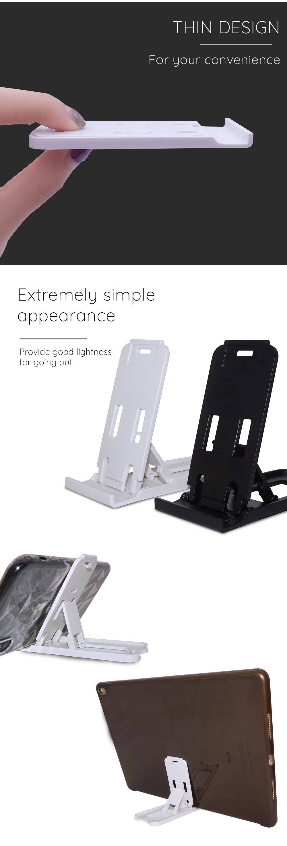 Portefeuille Mobile Phone Holder Candy Mini Desktop Stand For Huawei P20 Lite Xiaomi Mi 8 Mi8 iPhone X 7 Plus Smartphone Suporte (4)