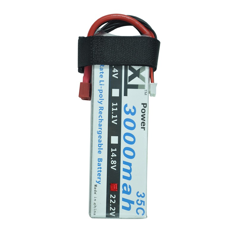 XXL 22.2V 3000mAh 35C 6S Max 70C Li-Po Battery for RC Helicopter Toy Boat Car He