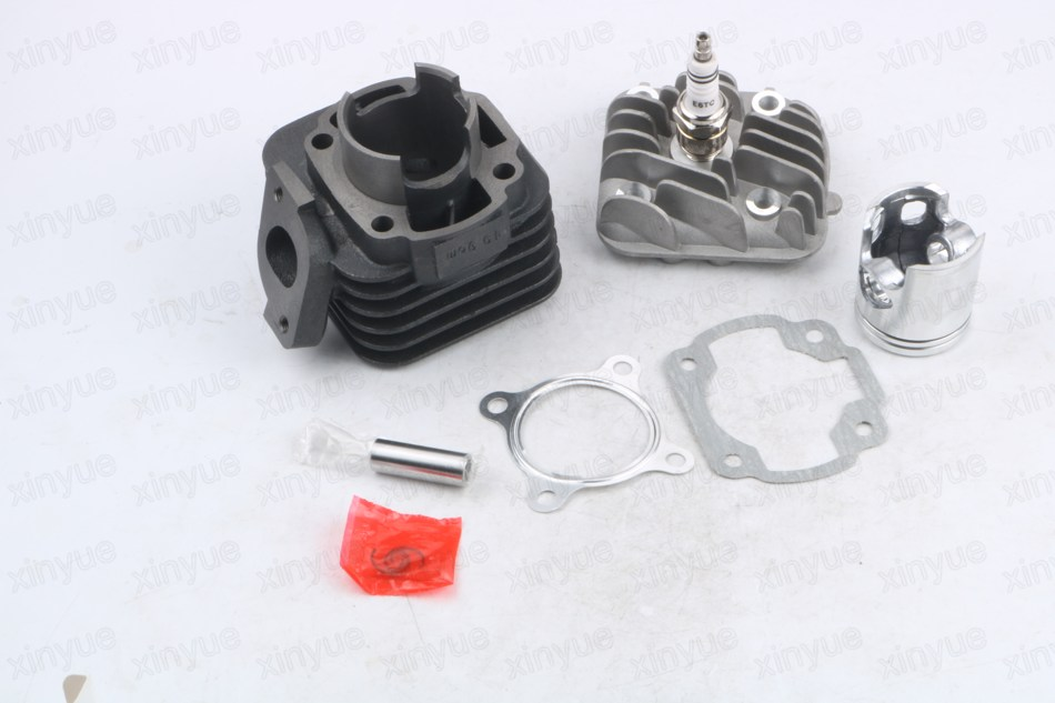 44mm/10mm  Head Cylinder Piston Ring Gasket Kit JOG 60 1P40QMB Glide car