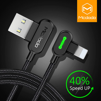 MCDODO USB Cable For iPhone Apple XS MAX XR X 8 7 6 5 6s plus Cable Fast Charging Cable Mobile Phone Charger Cord Usb Data Cable