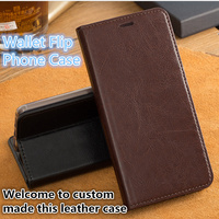HX03 Genuine Leather Wallet Case For Huawei Honor Play Phone Bag For Huawei Honor Play Phone Case With Kickstand