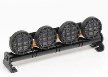 RC Car LED Многофункциональный СВЕТОДИОДНЫЙ Свет Бар Алюминий 5 Режима 1/10 1/8 Tamiya 4WD