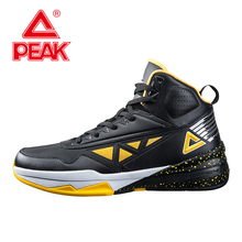 PEAK SPORT Men Basketball Shoes Authent Breathable Outdoor Sneakers FOOTHOLD Cushion-3 REVOLVE Tech Athletic Training Boots