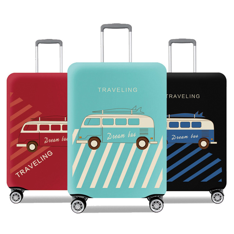 Trave Zubehör Koffer Schutz Abdeckungen Elastische Gepäck Abdeckung Protector Staubdicht Abdeckung für Koffer gelten 18
