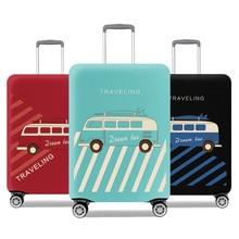 penutup pelindung untuk koper elastik berkualiti tinggi perlindungan beg regangan untuk troli 18-32 inci kes gaya 2017 reka bentuk
