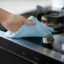 Super Absorbent Microfiber Kitchen Dish Cloth High-efficiency Tableware Household Cleaning Towel Kichen Tools Scouring Pad