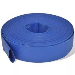 VidaXL Flache Rohr 50 M 2 Zoll PVC Handliche Feuer Schlauch Für Wasser Pumpen Wetter-Beständig Leichte Flexible Feuer schlauch