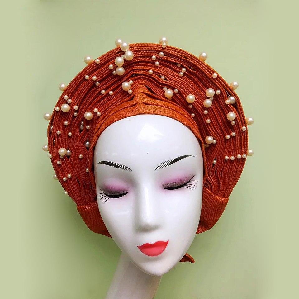 Auto Gele Asoke   African Head  tie  Net Gele