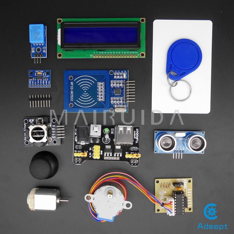 New RFID Raspberry Pi Raspberry Pi B + 2-generation B-type T-GPIO Expansion  Kit Intermediate B / B + Python DC Motor