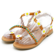 Comfortable Floral Beach Sandals