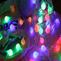 10M 100 LEDs  waterproof  IP65 outdoor multicolor LED string lights Christmas Lights holiday wedding party decotation