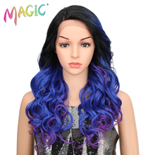 Lace Front High Temperature Loose Wave Synthetic Wigs For Black Women Glueless Cosplay Hair Wigs Blonde Wig For Africa America