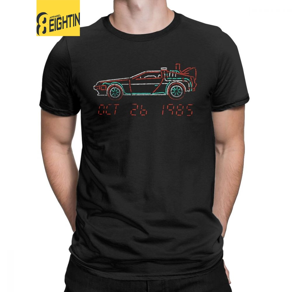 Back To The Future Biff/'s Automotive Detailing Hill Valley CA Adult T Shirt