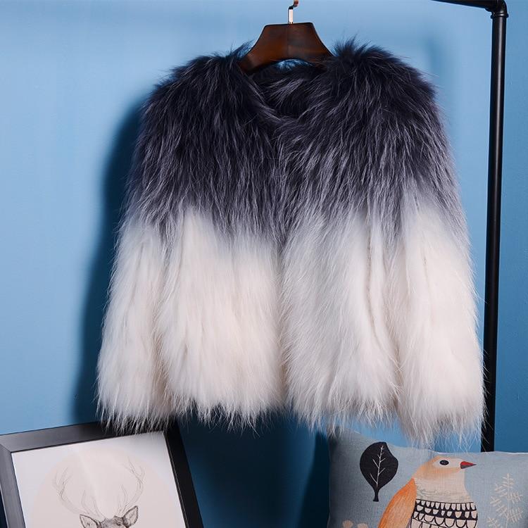 D'hiver Automne A De Vraies New Mignon Et Laveur Dames Manteau Gradient Veste b Brand Femmes Jkp Naturel Fourrure Style Raton Court xqEwIX