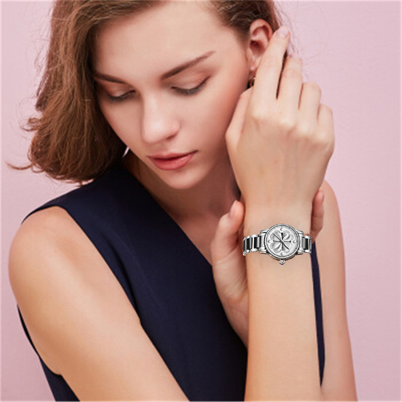 2019SUNKTA New Quartz Women Watch Ladies Ceramic Watches Women sports Waterproof Watch Top Luxury Brand Girl Clock Zegarek Damsk in Women 39 s Watches from Watches