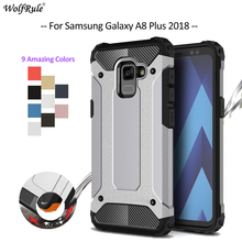 For Cover Samsung Galaxy A8 Plus Case For Samsung A8 Plus 2018 Armor Bumper Phone Case For Samsung Galaxy A8 Plus Cover A730 6'' телефон samsung sm a730 galaxy a8 2018 32gb черный