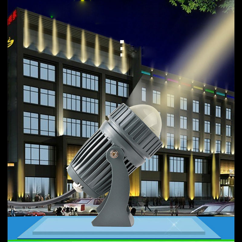LED Spotlight 10W waterproof IP65 Floodlight Outdoor Lighting garden Landscape light Beam length 200M CREE LED Bulbs ultrathin led flood light 200w ac85 265v waterproof ip65 floodlight spotlight outdoor lighting free shipping