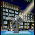 Refletor LED 10 W Feixe de Iluminação Ao Ar Livre Holofote à prova d' água IP65 jardim Paisagem luz comprimento 200 M CREE Lâmpadas LED