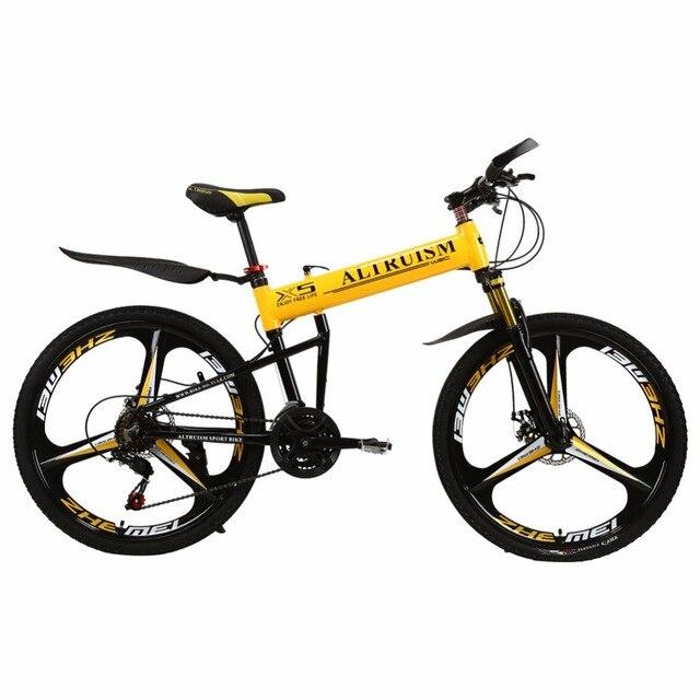 ALTRUISM X5 Pro 21 скорости складной велосипед для мужчины,колесо с 26 дюймами, пользуется проектированием двухполярного тормозного диска