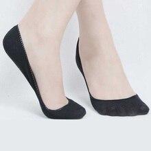 Hot Sale Cotton Summer Womens socks Female Short Sock Slippers Thin non-slip Girls Boat Socks
