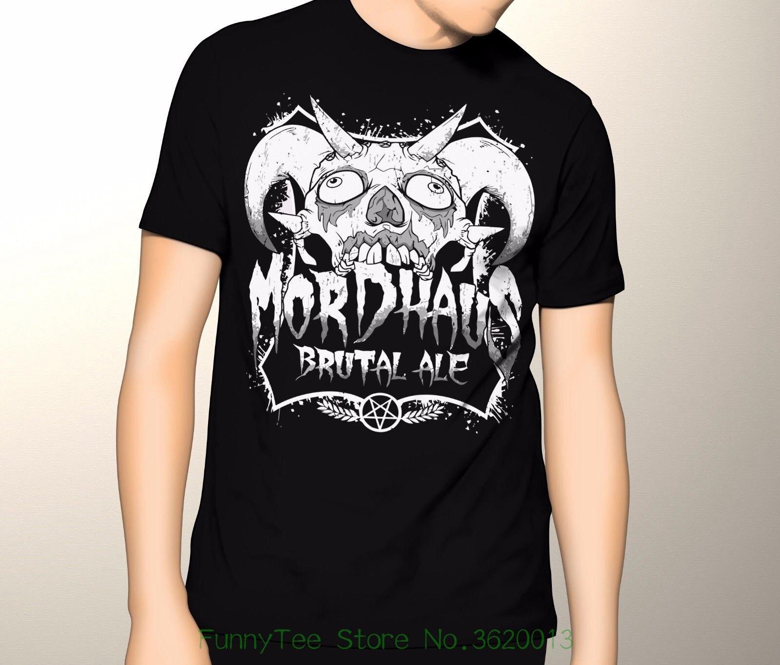 Metalocalypse  Mordhaus Ale , S - 6xl Graphic T-shirt [ Adultswim ]
