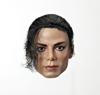 Mnotht Head Sculpt 1 6 Michael Jackson Head Rooted Hair For Hot Toys Phicen PRE ORDER