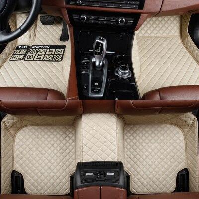 HLFNTF tapis de sol de voiture sur mesure pour Honda accord Civic CRV ville HRV CR-Z élément de croix Vezel accessoires de voiture