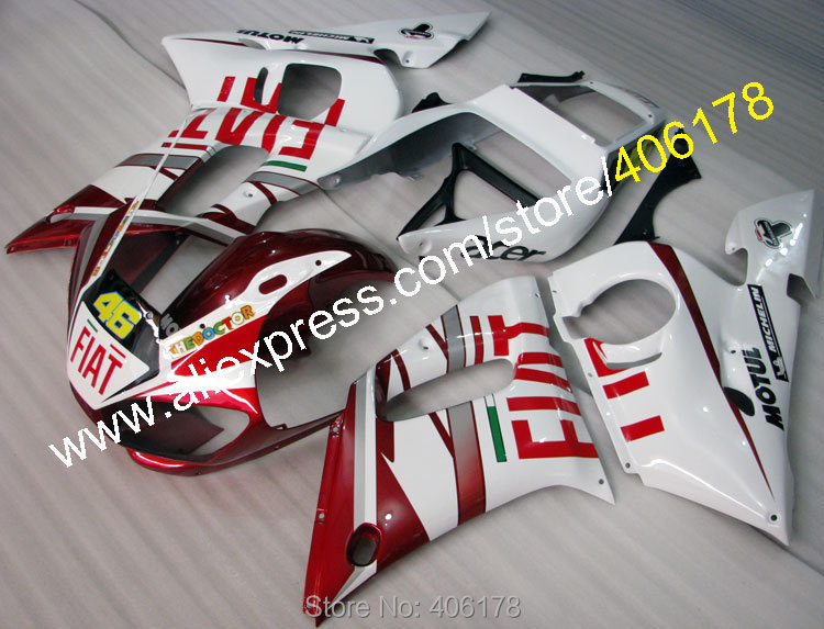Hot Sales,For YAMAHA YZF-R6 Fairing 1998-2002 YZFR6 YZF R6 YZF R 6 YZF600 YZF 600 98-02 Fairing of motorbike (Injection molding)