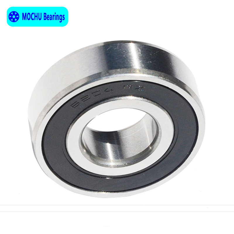 10pcs Bearing 6204 6204RS 6204RZ 6204-2RS1 6204-2RS 20x47x14 MOCHU Shielded Deep Groove Ball Bearings Single Row High Quality single row 8mm x 16mm x 5mm deep groove ball bearing for electric hammer 26