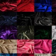 100 см* 150 см аутентичная Корейская фланелевая однотонная Золотая Бархатная ткань, Корейская бархатная эластичная бархатная ткань для спортивной одежды
