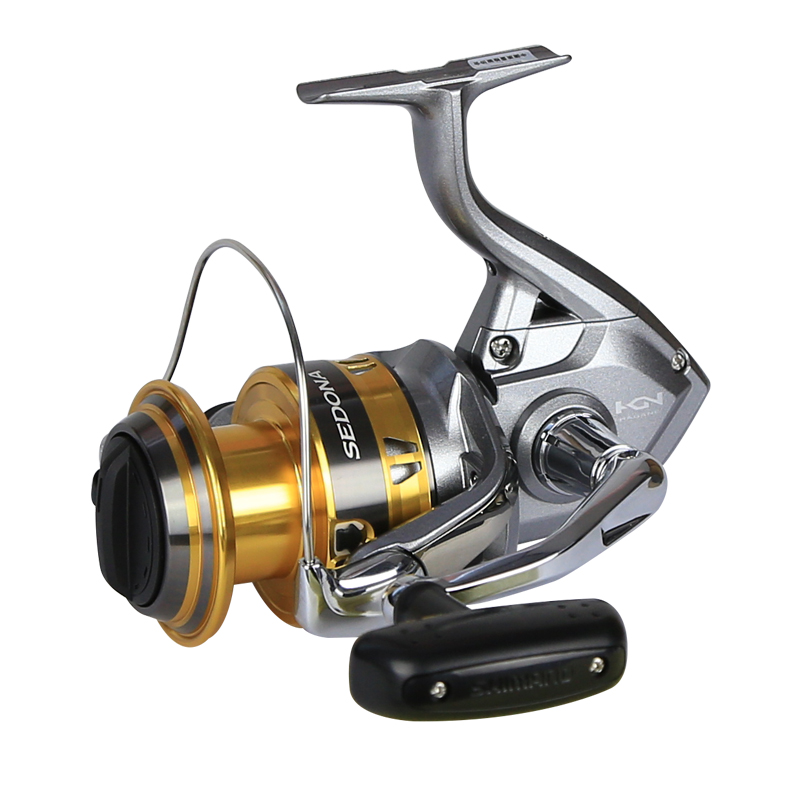 Shimano SEDONA FI Spinning Reel with Extra Handle Knob 5.0:1/6.2:1 Gear Ratio 3+1BB Hagane Gear G Free Body Fishing Reel-in Fishing Reels from Sports & Entertainment    3