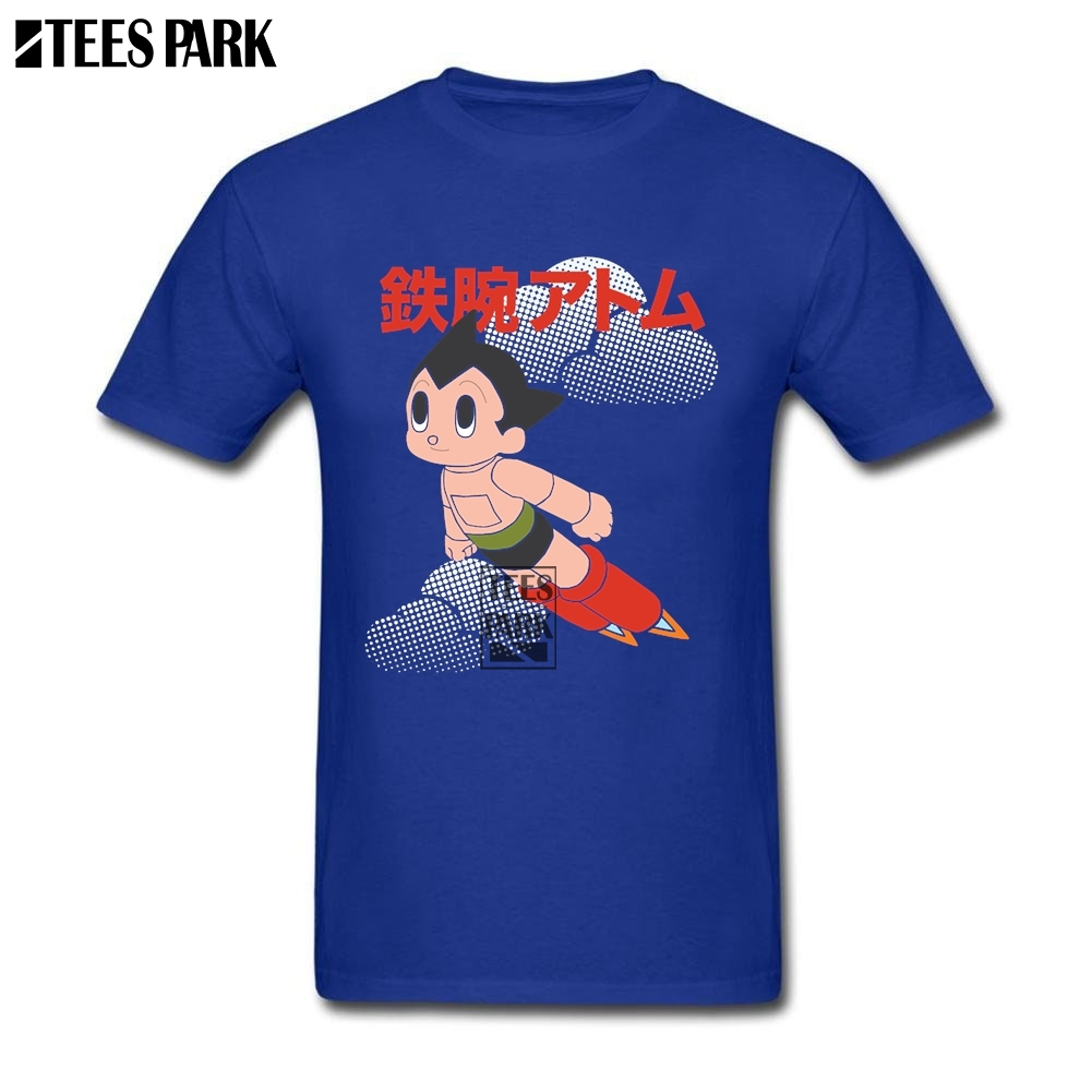 Wholesale Astro Boy Mens T Shirts Youth O Neck Short Sleeve T-Shirt Normal Men Achat T Shirt Quotes 2018 Hot Design Aniem