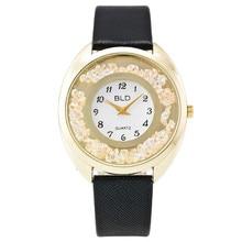 2016 Mulheres Da Moda Strass Relógio De Pulso De Luxo Ouro Dial Casual Mulheres Relógio de Quartzo Senhoras Relógio Relogio feminino Presente 1972