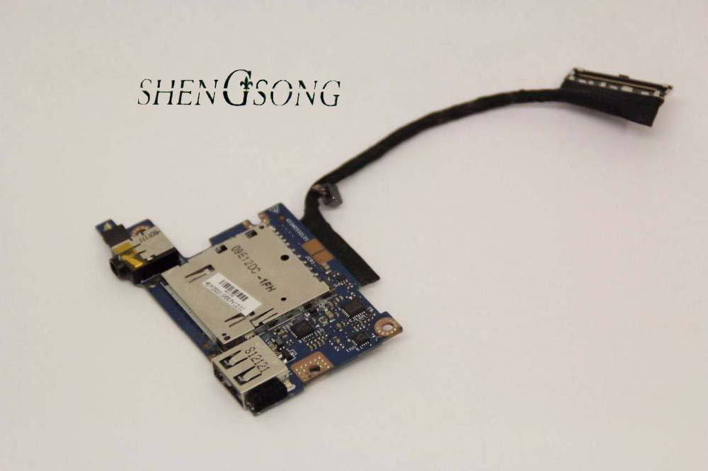 Free shipping new original for HP SPECTRE XT13 XT 13 series USB AUDIO CARD READER BOARD DC02001KV00 455M2532L01